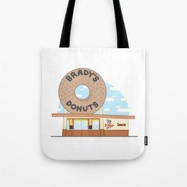 Brady's Donuts Tote Bag