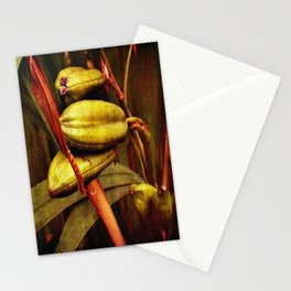 Hanging over the pond Stationery Cards