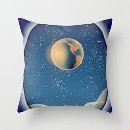 Moonbase Throw Pillow