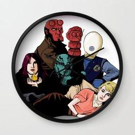 The BPRD Club Wall Clock