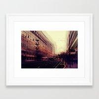 london Framed Art Prints featuring London by Ingrid Beddoes