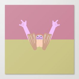 Pantless Project / WALTER Canvas Print