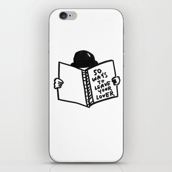 50 Ways To Leave Your Lover iPhone & iPod Skin