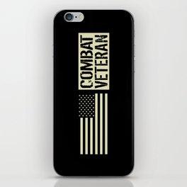 Combat Veteran iPhone Skin