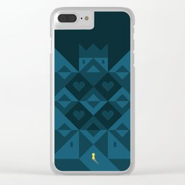 My home is my castle Clear iPhone Case