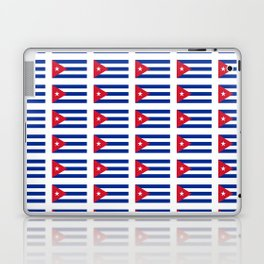 Flag of Cuba 2 -cuban,havana, guevara,che,castro,tropical,central america,spanish,latine Laptop & iPad Skin