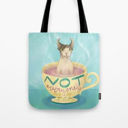 Not Everyone's Cup Of Tea - Sphynx Cat - Part 5 Tote Bag