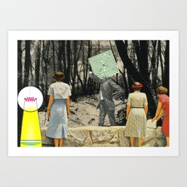 We're Not Always Who We Appear Art Print