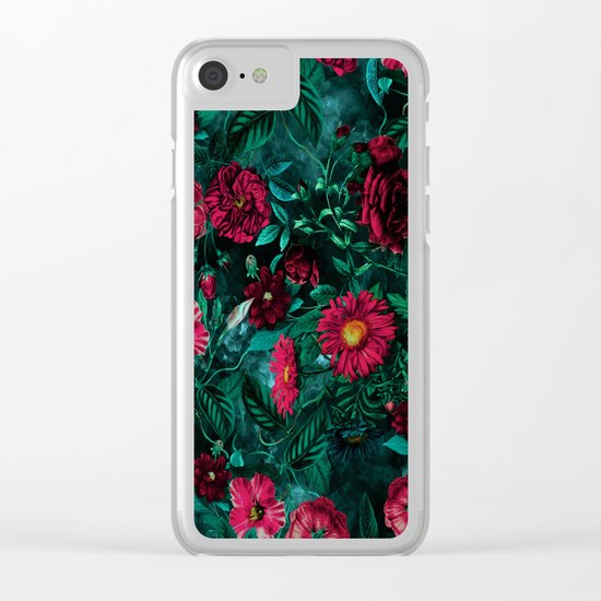 Botanical Garden IV Clear iPhone Case
