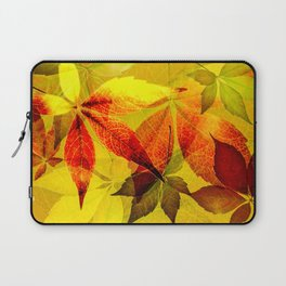 Virginia Creeper autumn colors Laptop Sleeve