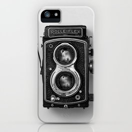 Rolliflex Camera iPhone Case