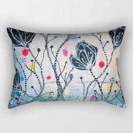 Black Celebration Rectangular Pillow