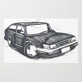 Saab 900 Rug