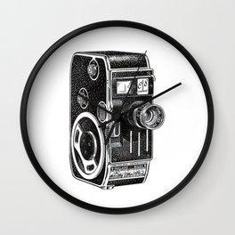 Vintage Cine Camera Wall Clock