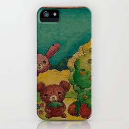 Forest wool iPhone Case