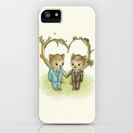 Lovey iPhone Case