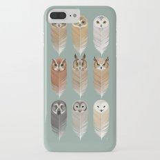 Owl Feathers iPhone 7 Plus Slim Case