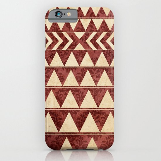 Vintage Material Triangles iPhone & iPod Case