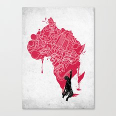 RE | Draw AFRIKA Canvas Print