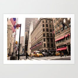 ArtWork New York City Photo Art Art Print