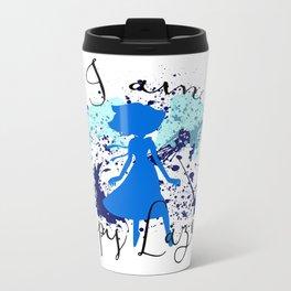 I am Lapis Lazuli Metal Travel Mug