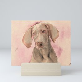 Pointer dog Mini Art Print