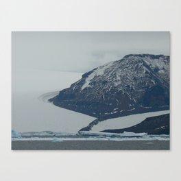 Glaciers, Antarctica 2006 Canvas Print