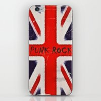 punk rock iPhone & iPod Skins featuring Punk rock by Shalisa Photography