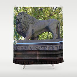 Hear Me Roar  Shower Curtain