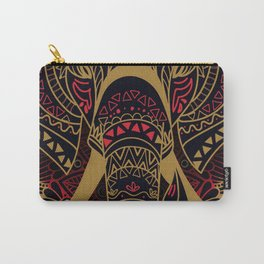 Rubino Zen Elephant Red Carry-All Pouch