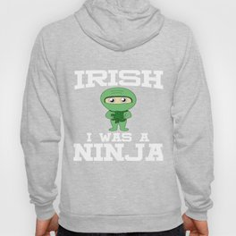 IrishBirthday Ninja Party Samurai Ninjas Gift Japanese Ninja stars  Hoody