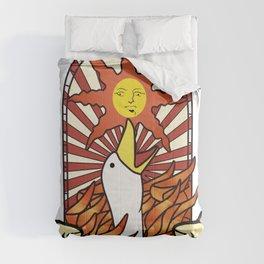 honk the sun Comforters