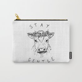 STAY GENTLE Carry-All Pouch