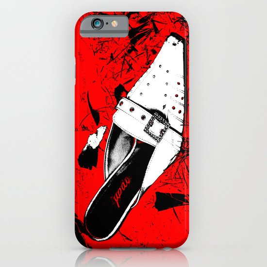 white Shoes iPhone & iPod Case