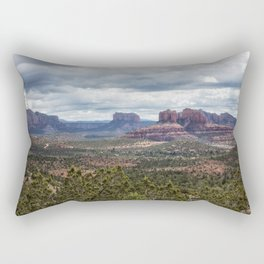 The View from Red Rock Loop Rectangular Pillow
