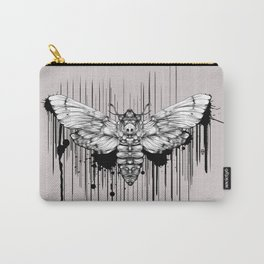 Ink Moth Carry-All Pouch