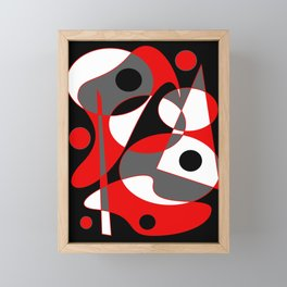 Abstract #855 Framed Mini Art Print