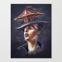 Topsy Canvas Print