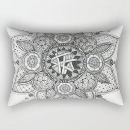 Moleskine Mandala Rectangular Pillow