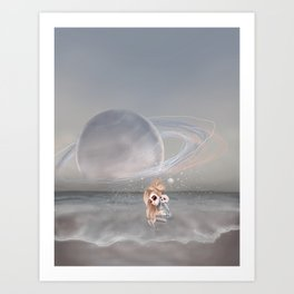 How did I get here, how can I go home. Art Print