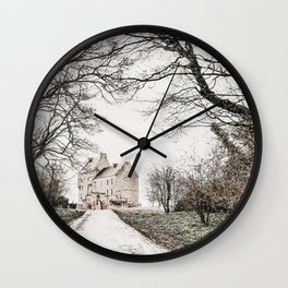 Midhope Castle Photo | Serie Film Location Photography | Lallybroch Castle Wall Clock