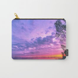 Day fading into the lake Carry-All Pouch