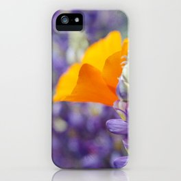 Peeking Poppy iPhone Case