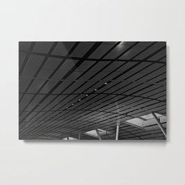 Airport Waves Metal Print