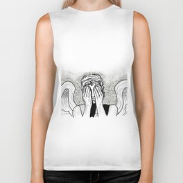 Weeping Angel Biker Tank