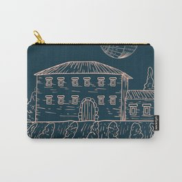 Italian Vintage Night - Countryside Landscape Carry-All Pouch