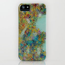Worldly Flowers iPhone Case