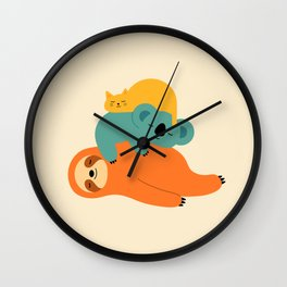 Being Lazy Wall Clock