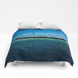 Lost Paradise Comforters