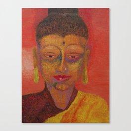 Buddha of Enlightenment Canvas Print